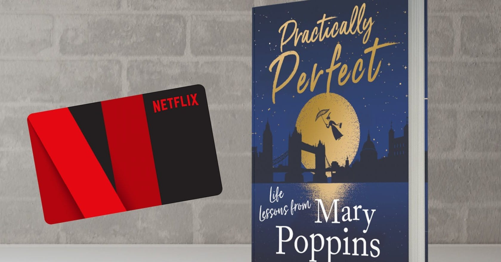 Win a £100 Netflix gift card and a copy of Practically Perfect by Katy Brand