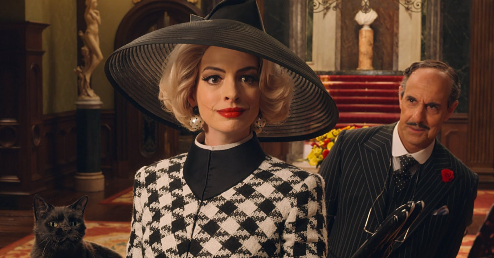 Anne Hathaway just shared a sneak peek at her Grand High Witch make-up look