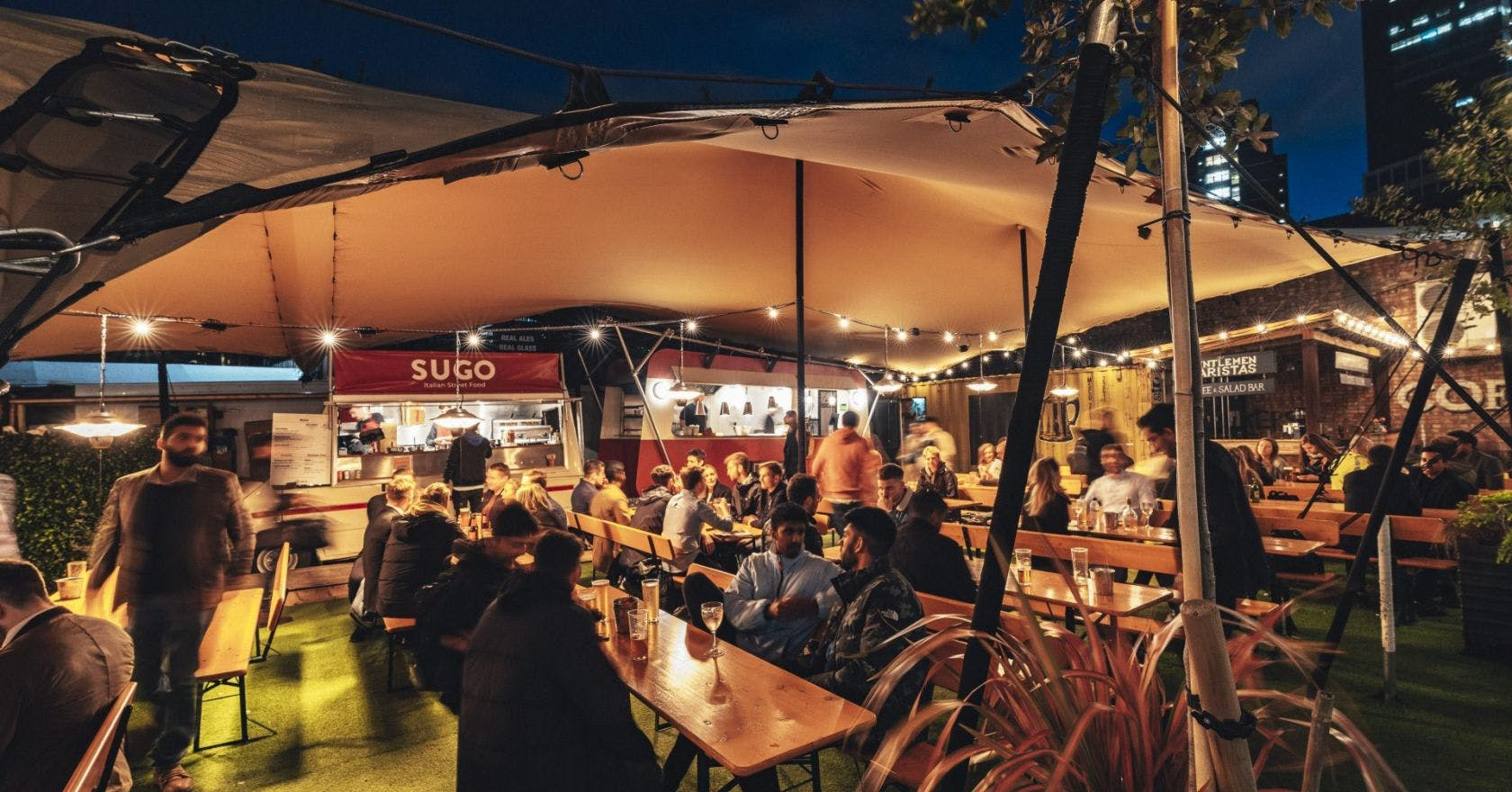 London's best restaurants and bars with heated outdoor terraces for tier 2 socialising