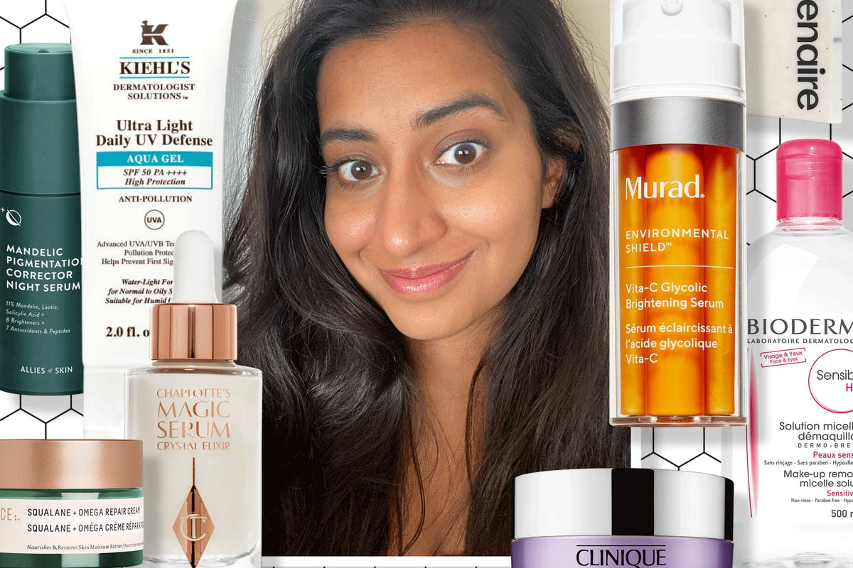 skincare-routine-combination-skin-hyperpigmentation-spots-best-products