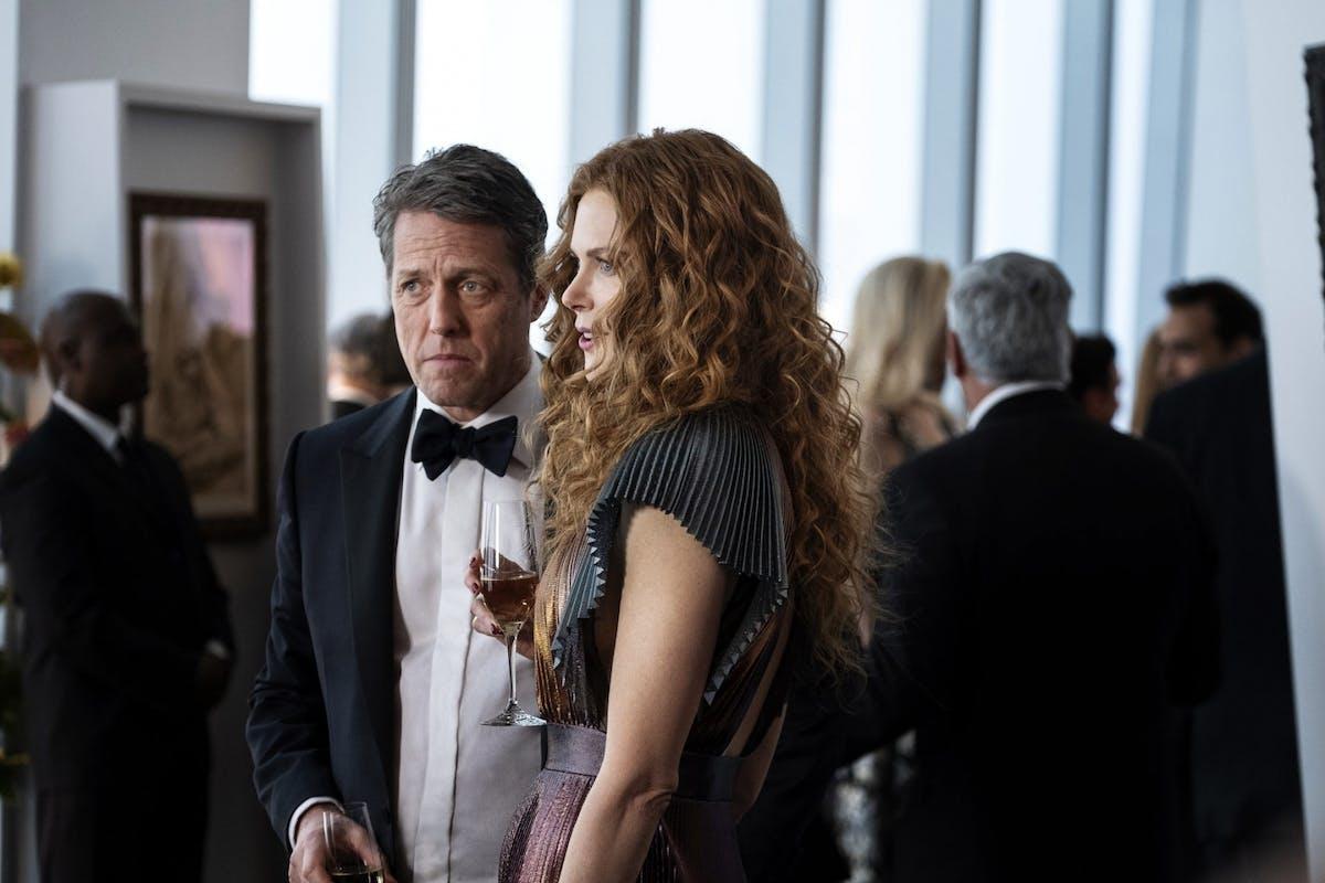 Hugh Grant and Nicole Kidman as Jonathan and Grace Fraser in The Undoing on Sky