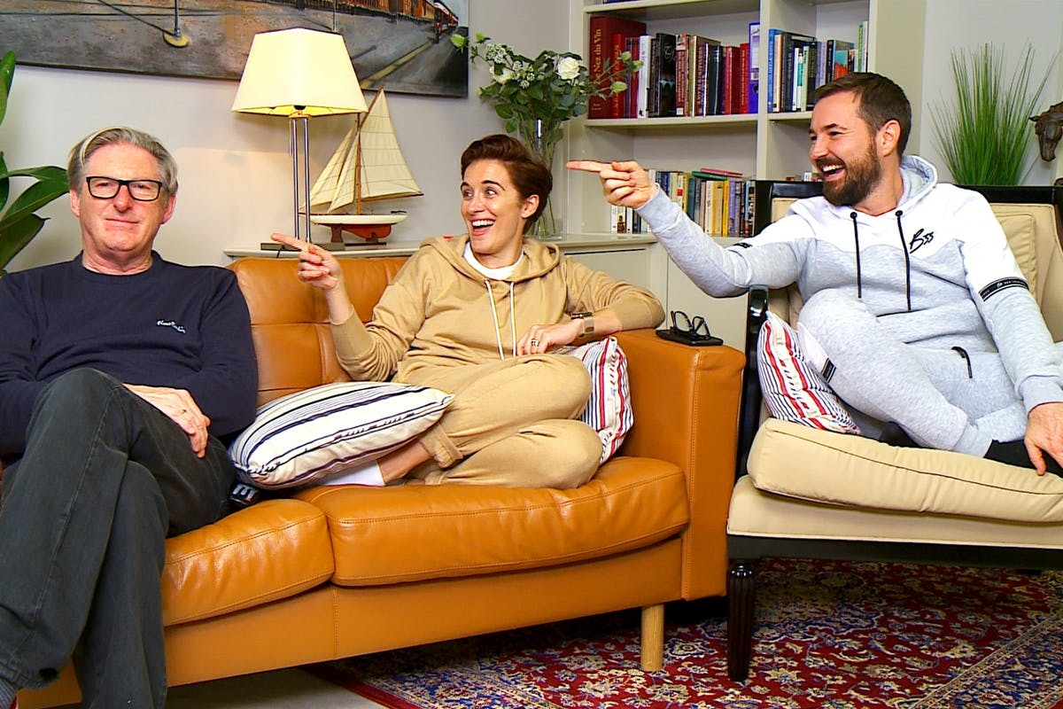 Celebrity Gogglebox for Stand up to Cancer on Channel 4