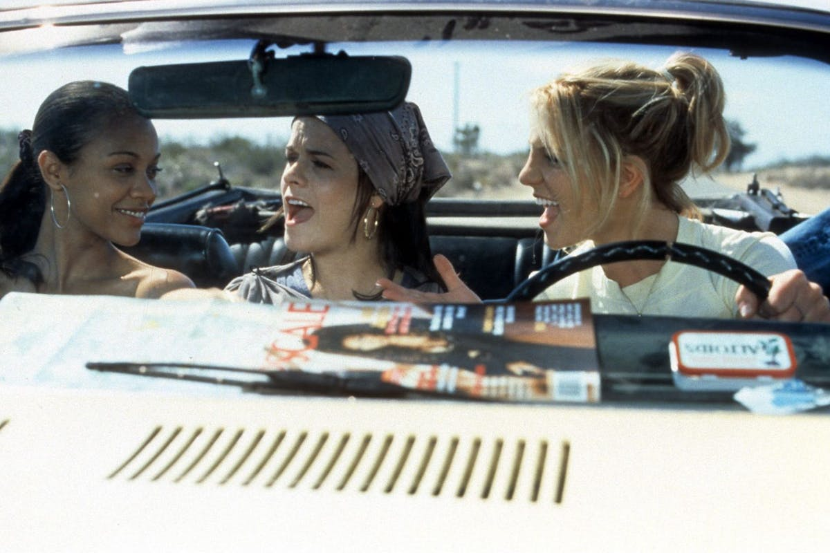 A production still from Crossroads