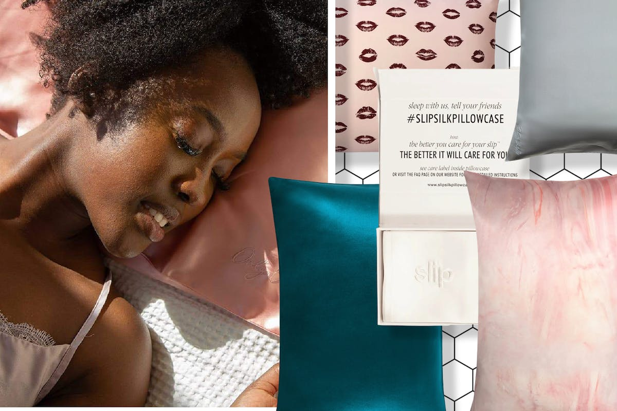 Best silk pillowcases: the simple bedtime switch that comes with incredible skin and hair benefits