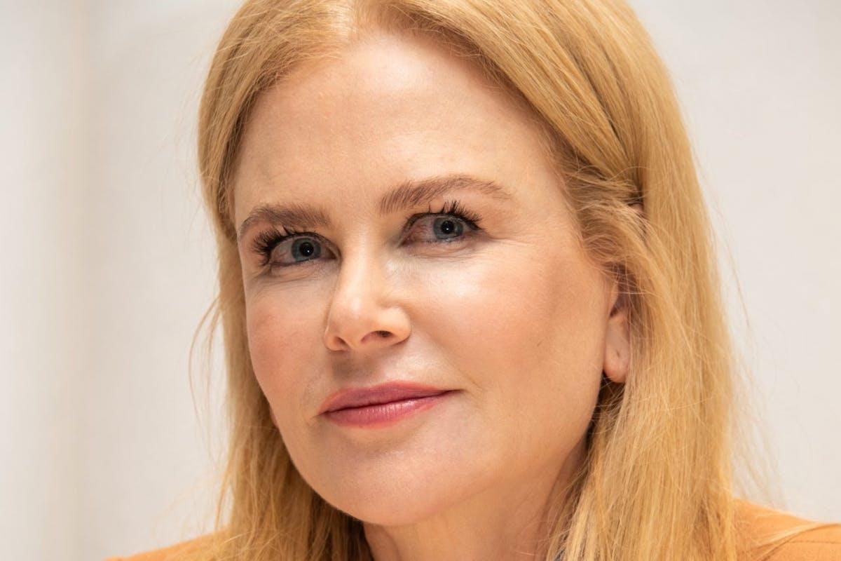 Nicole Kidman at a press conference