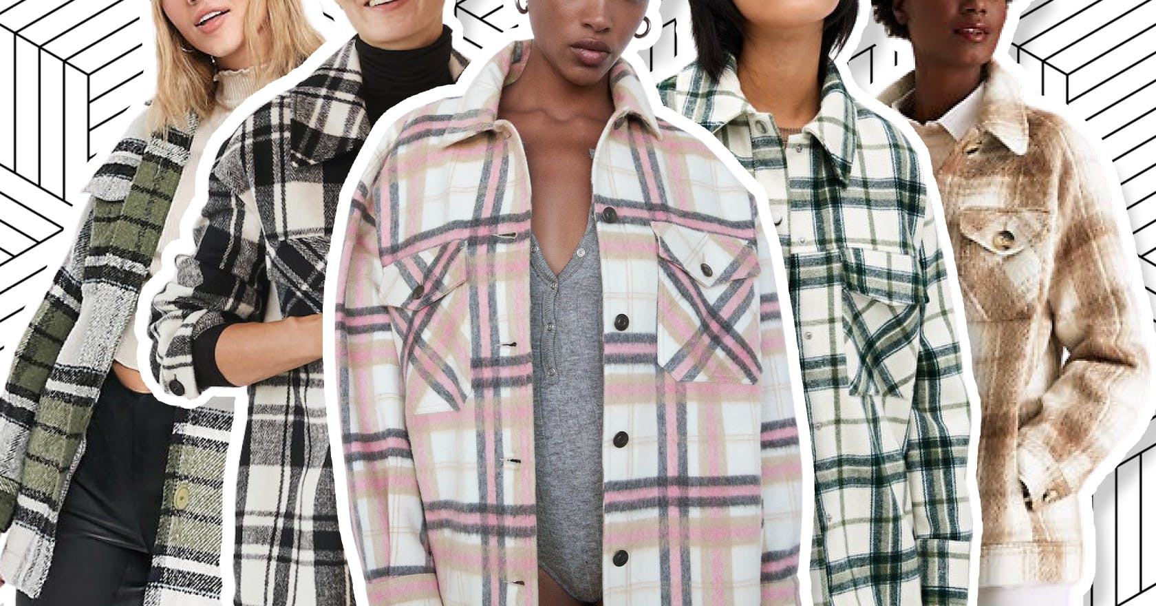 11 checked shackets you'll want to wear everywhere