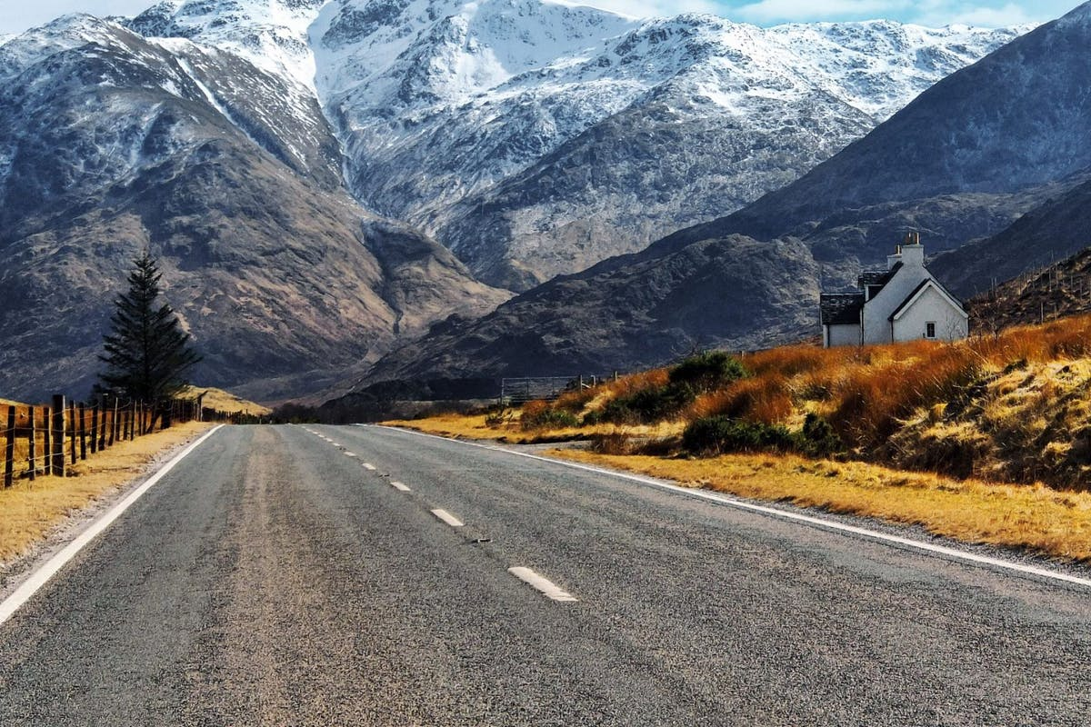 UK road trips - Scottish Highlands