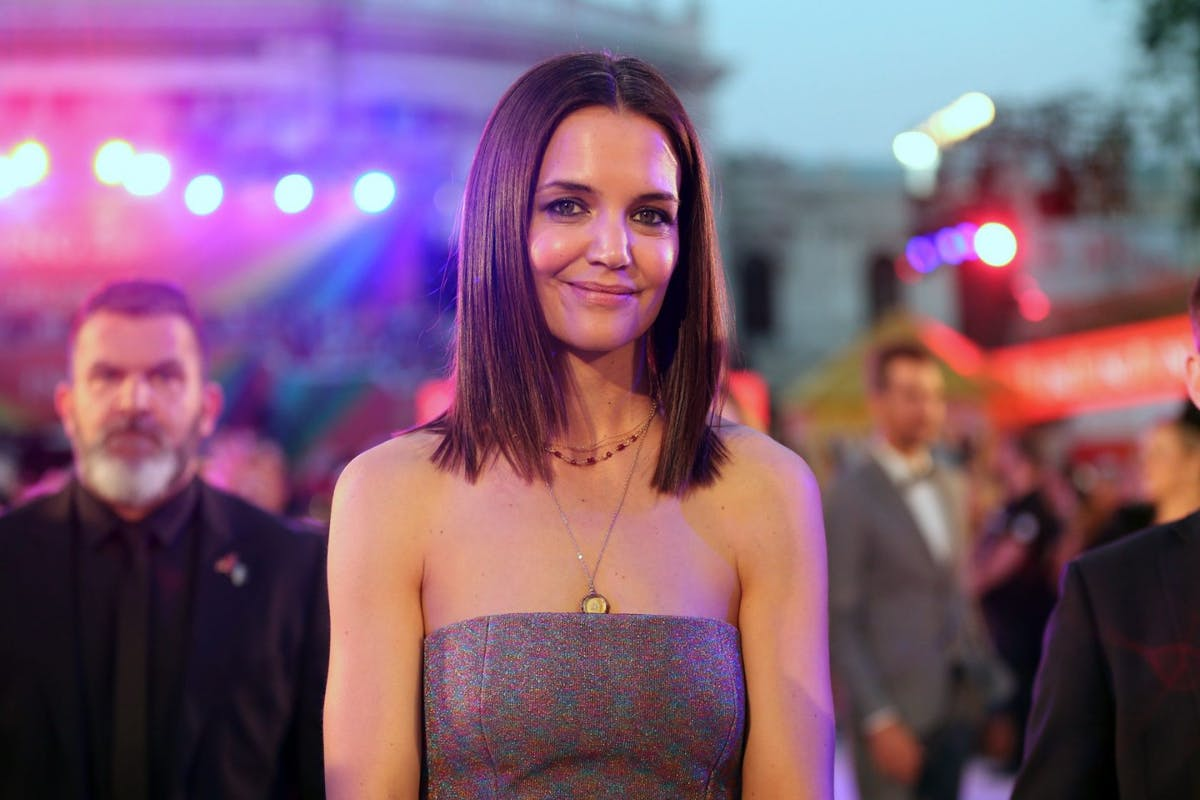 Katie Holmes during the Life Ball 2019 at City Hall on June 8, 2019 in Vienna, Austria. After 26 years the charity event Life Ball will take place for the very last time, raising funds for HIV & AIDS projects. (Photo by Gisela Schober/Getty Images)