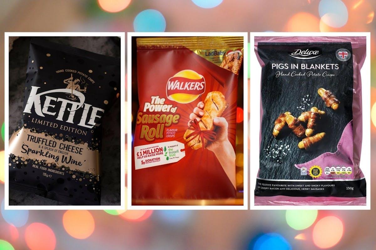 Christmas crisp flavours: crispmas sandwich, anyone? The best festive crisp flavours, ranked