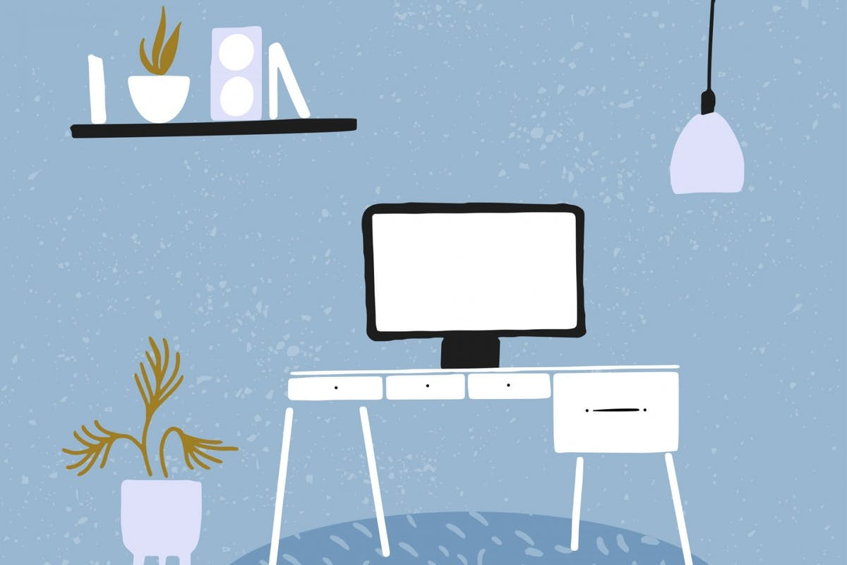 Working from home: how making small, easy changes to your workspace could help your mental health