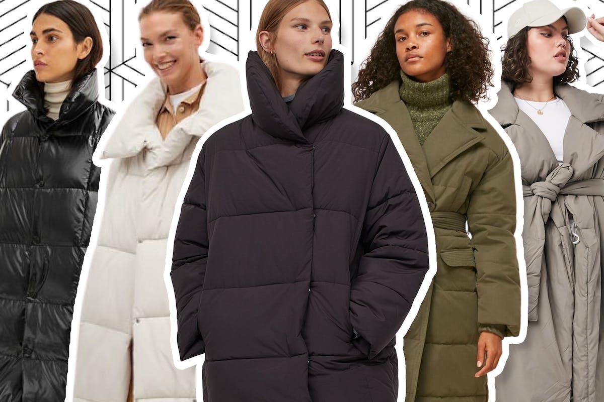 Best duvet coats for women to wear this winter