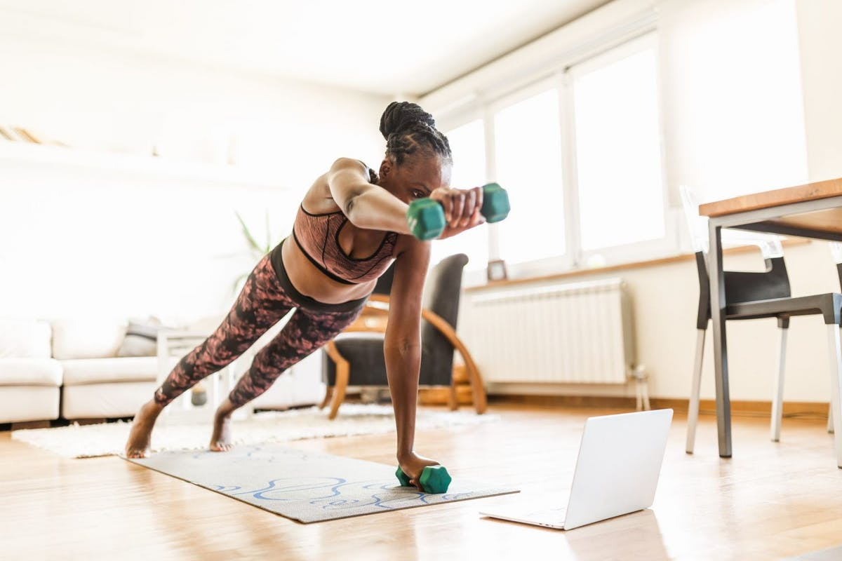 at-home strength training workout