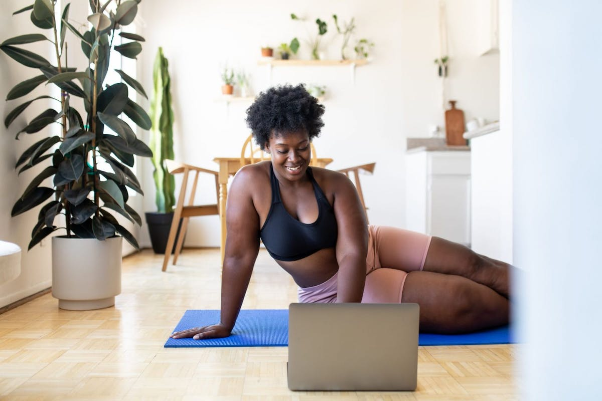 Creating a home workout plan