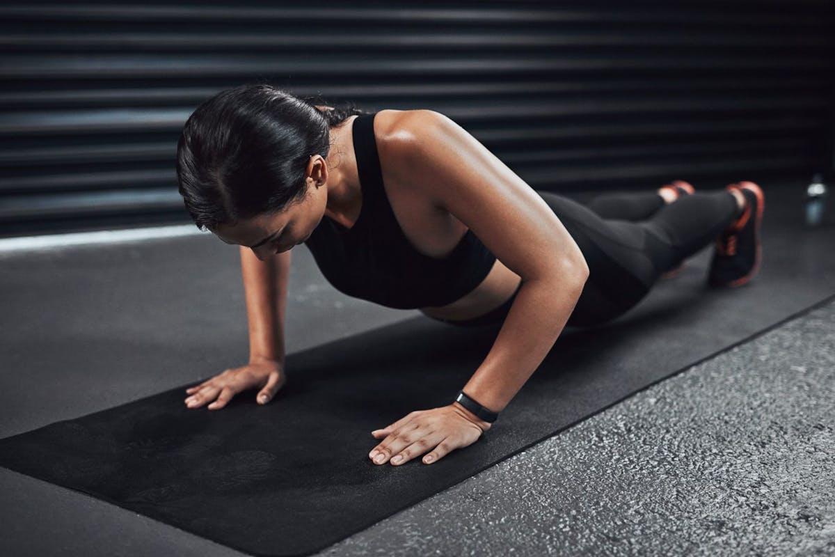 Strength training: how to do a burpee