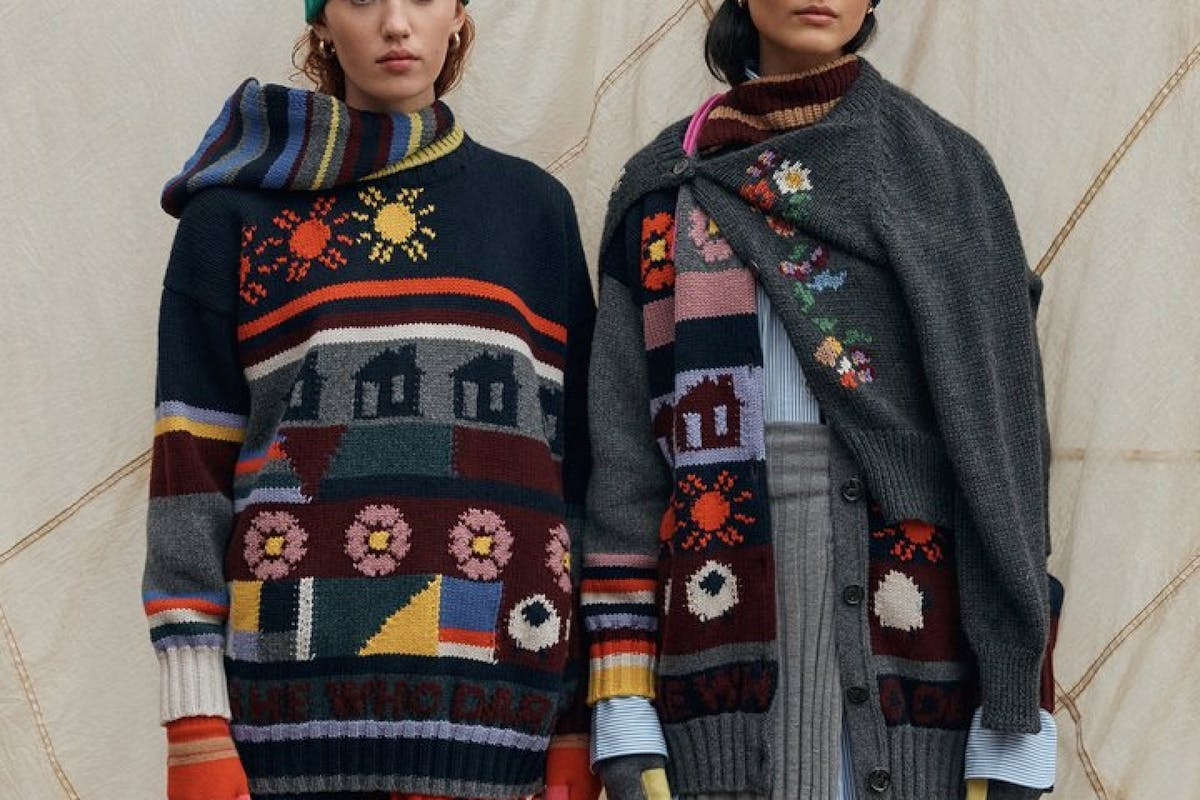 & Daughter autumn winter sustainable ethical knitwear