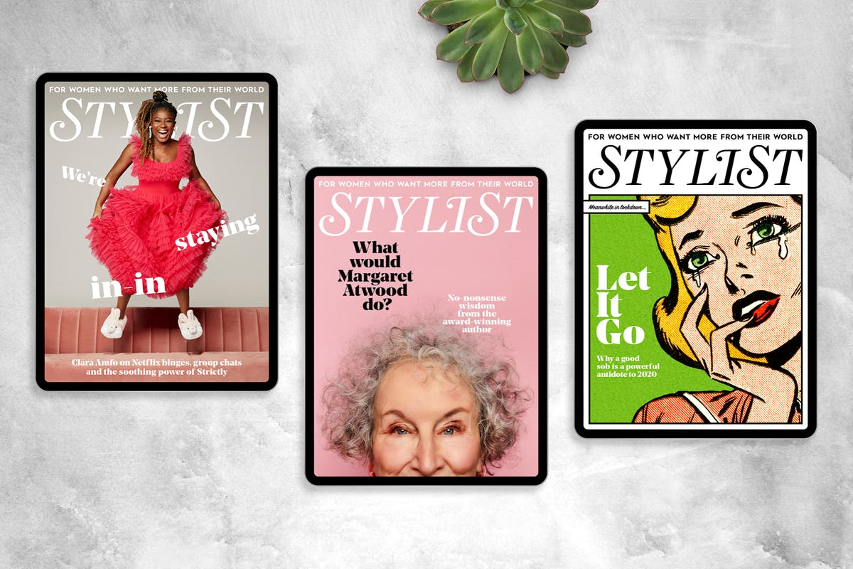 Issue 532 Stylist Magazine Margaret Attwood cover