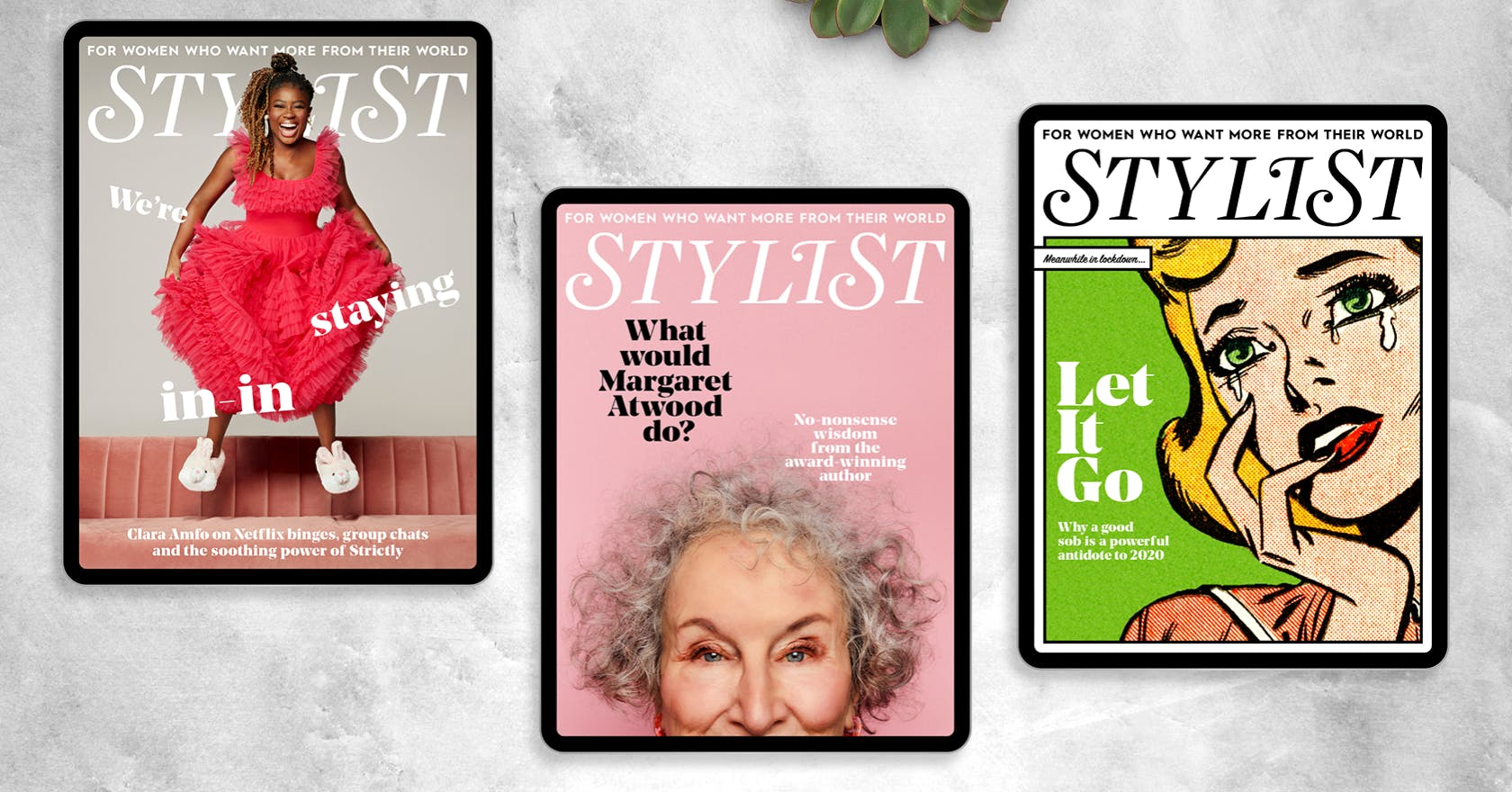 Get this week's issue of Stylist Magazine