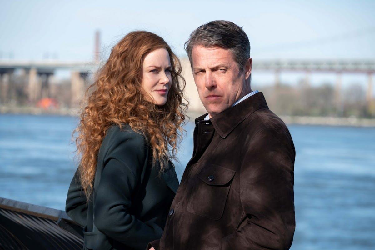 Nicole Kidman as Grace and Hugh Grant as Jonathan in The Undoing