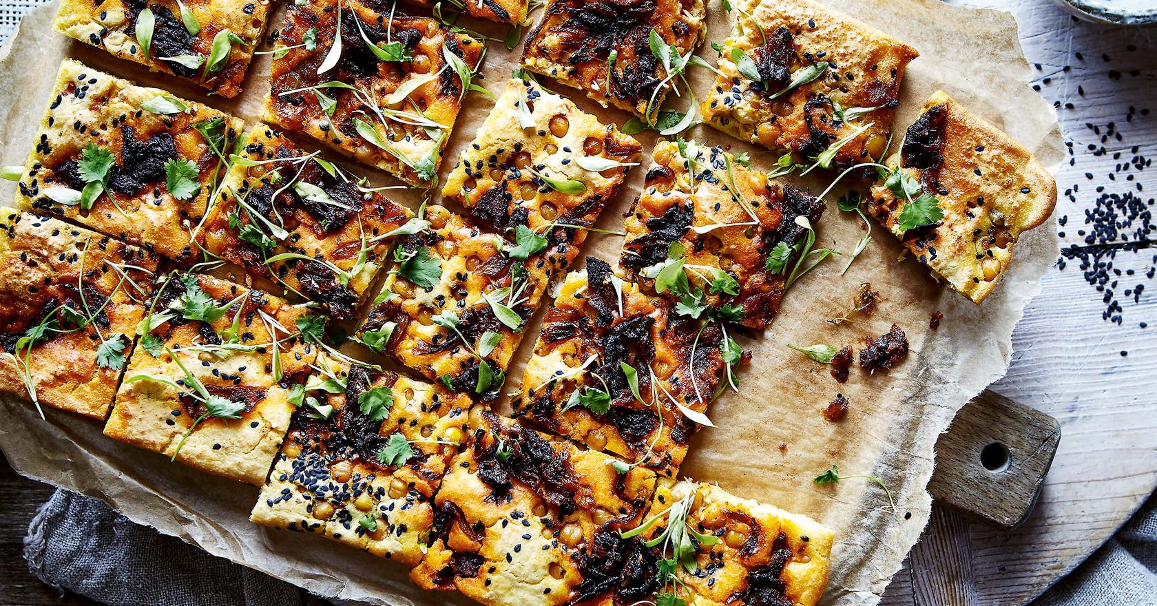 Quick and easy flatbread recipe for post-workout recovery