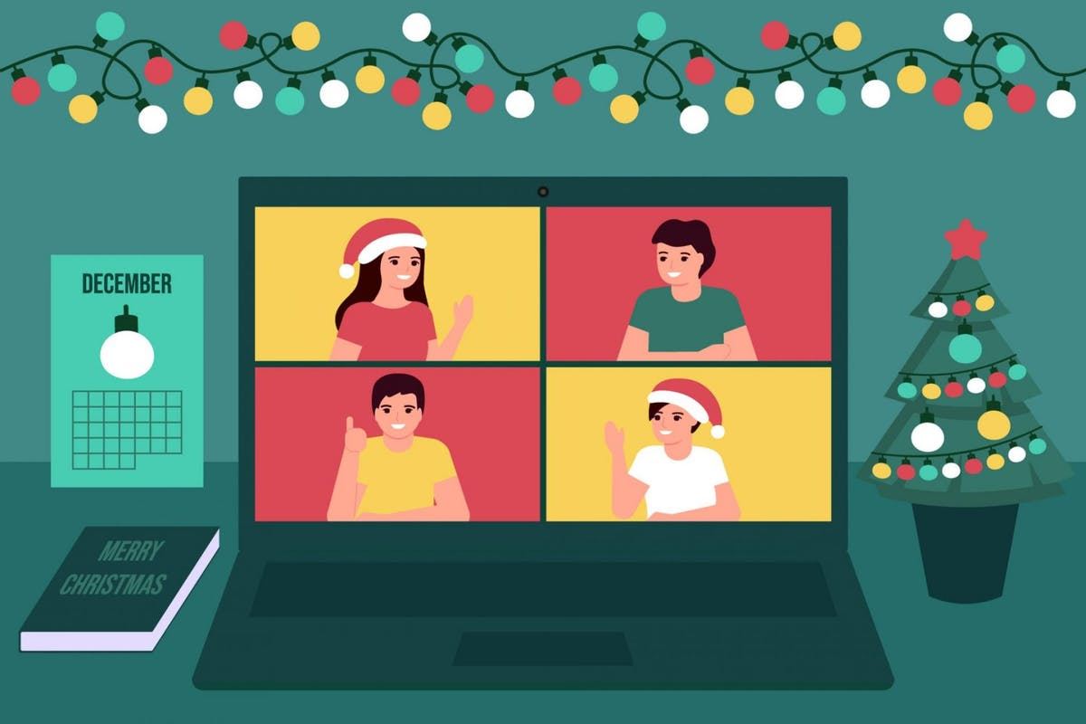 How To Plan A Virtual Office Christmas Party