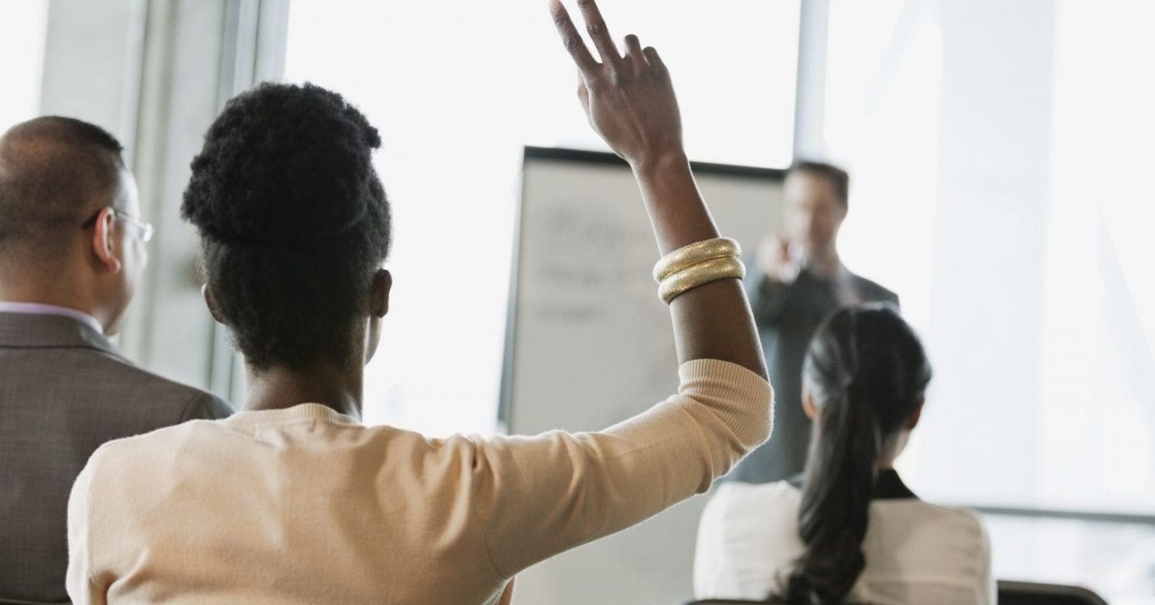 Why men talk over women at work, and five ways to push back