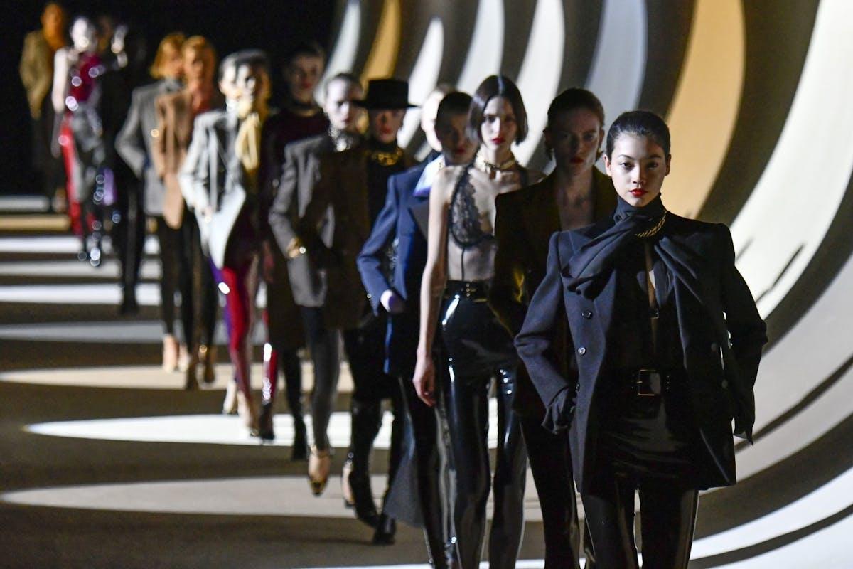 Saint Laurent autumn winter 2020 fashion show Paris fashion week February 2020