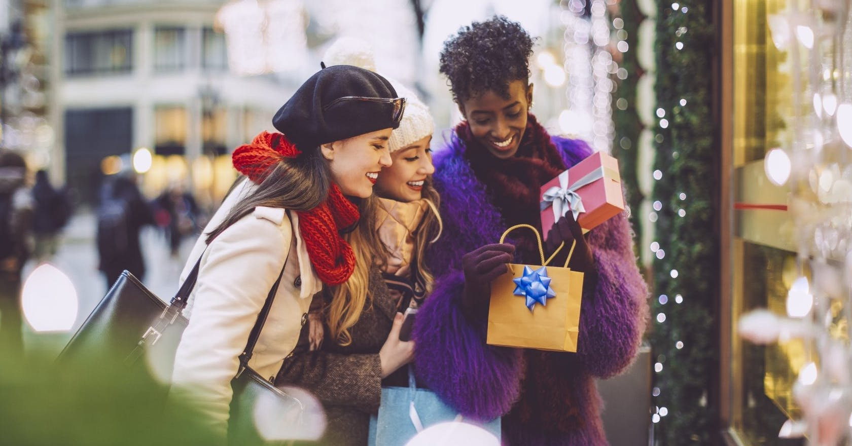 How shopping on the high street became a beloved Christmas ritual