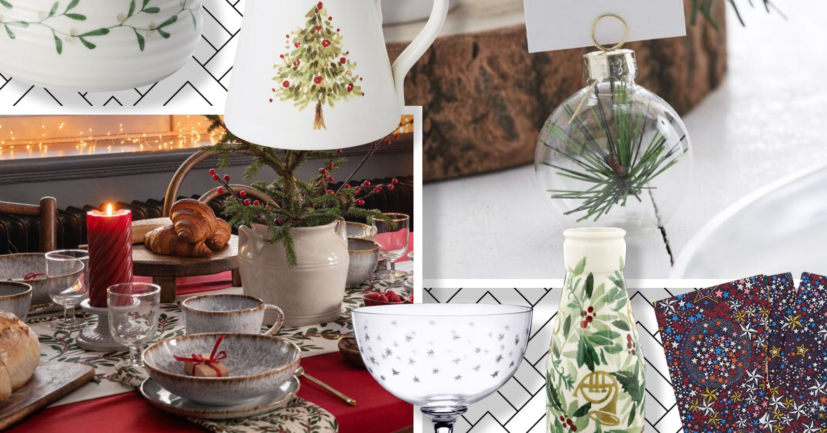 Festive tableware to help you have the best Christmas dinner ever
