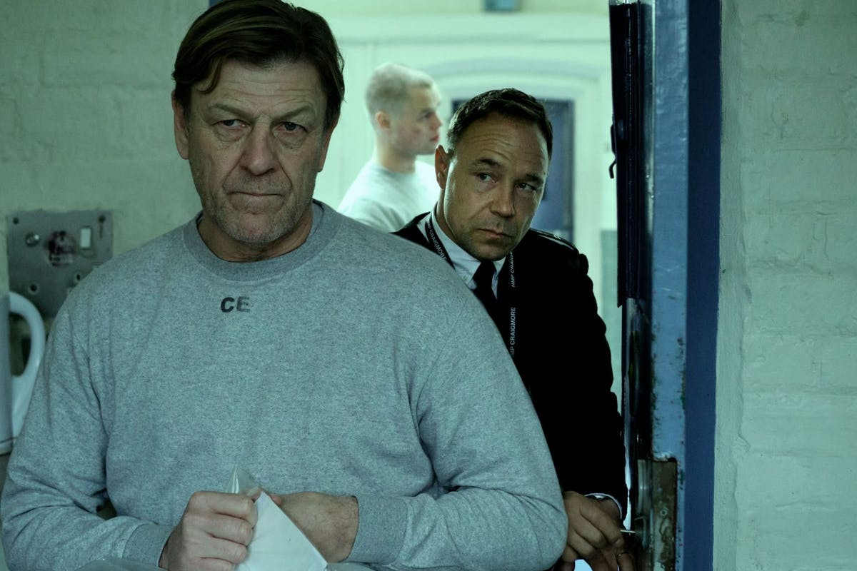 Stephen Graham and Sean Bean in Life.