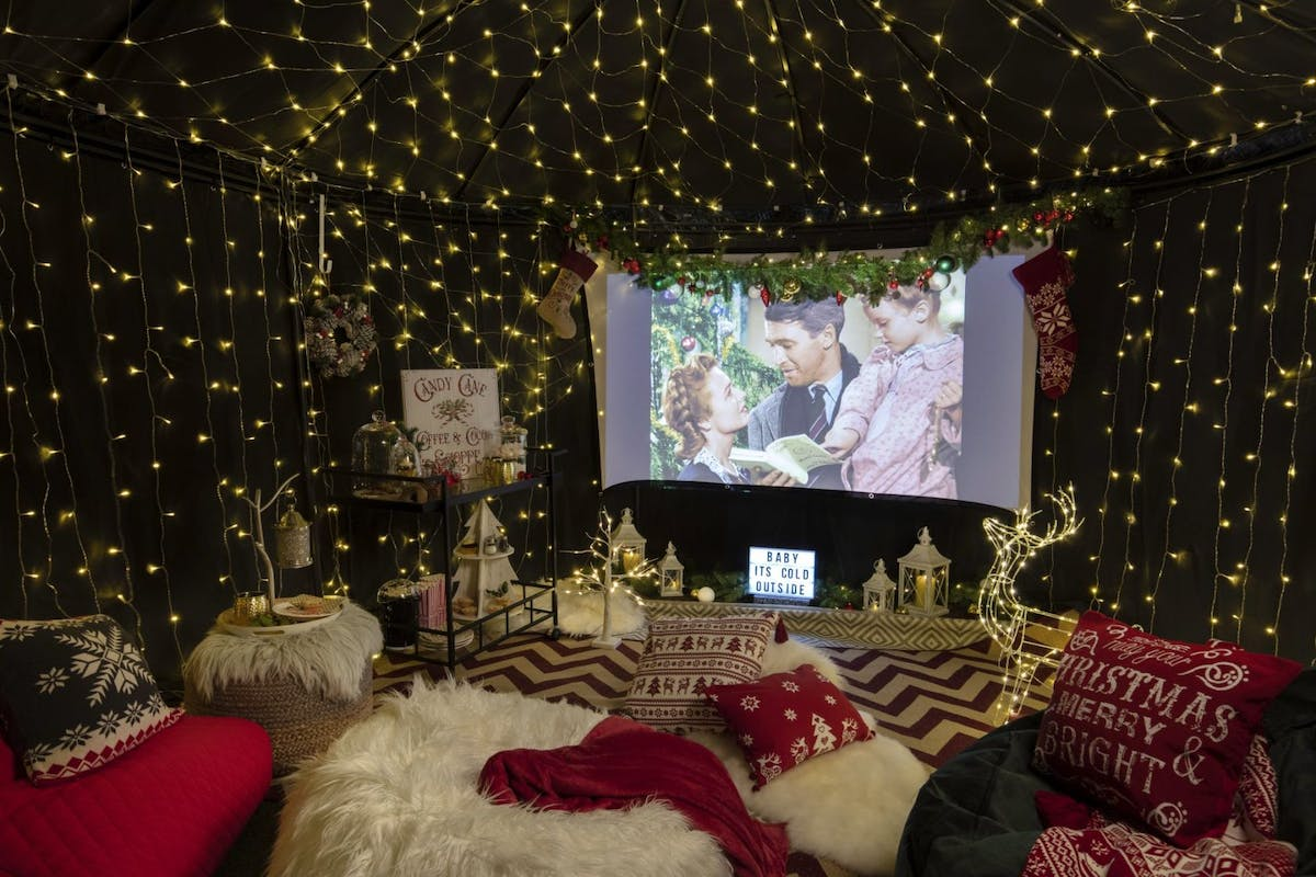 Turn your living room into a winter wonderland for a night of festive films.