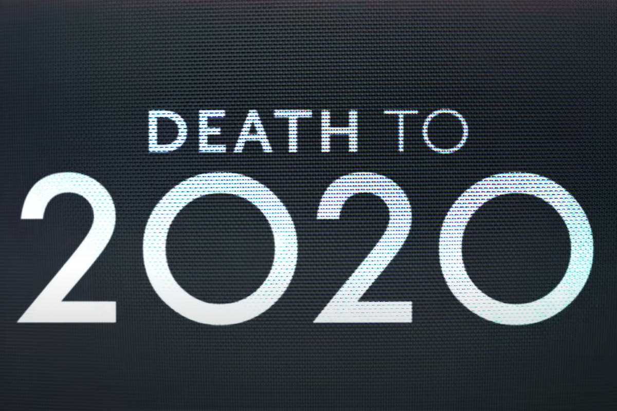 Charlie Brooker's Christmas special: Death To 2020.