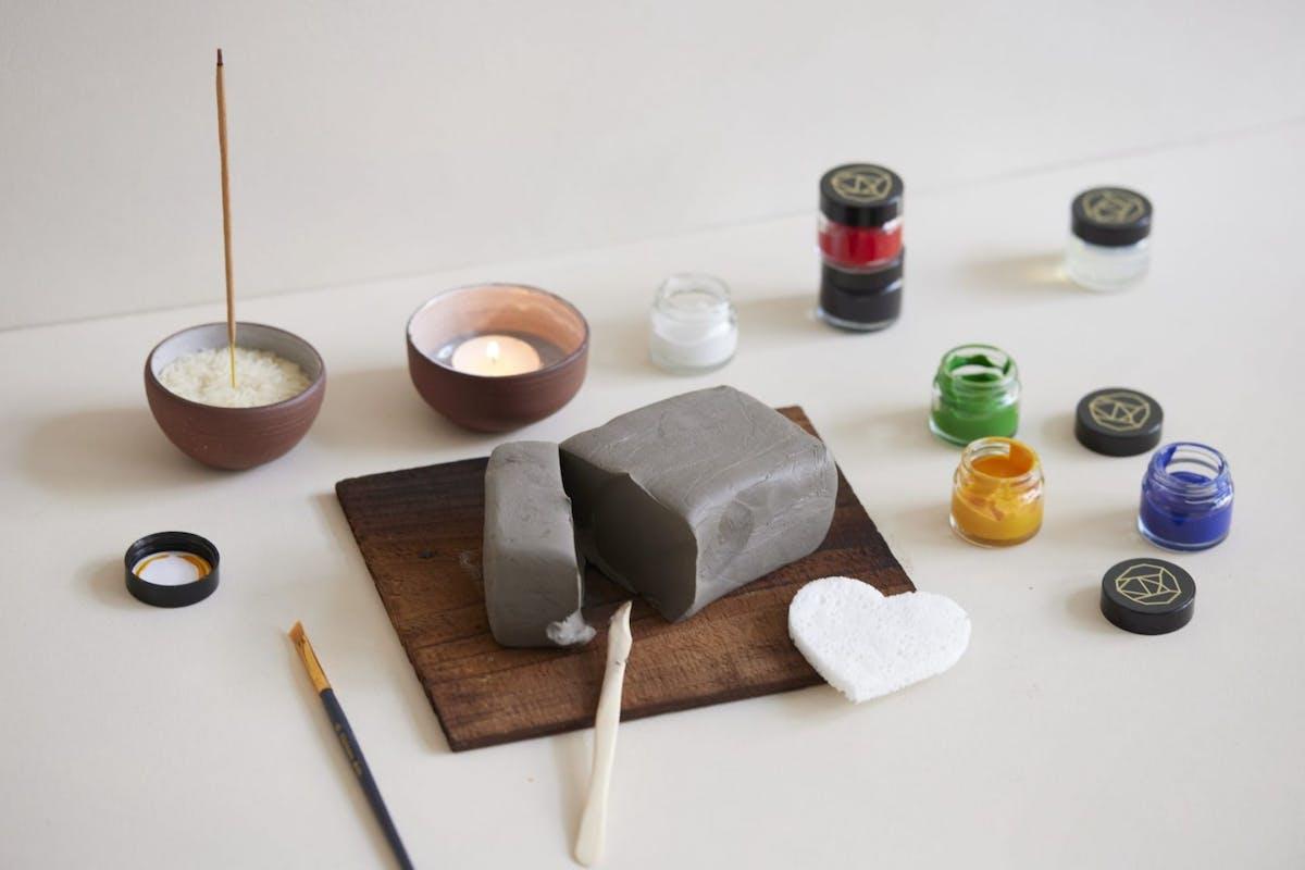 SkandiHus clay kit Hackney Studio
