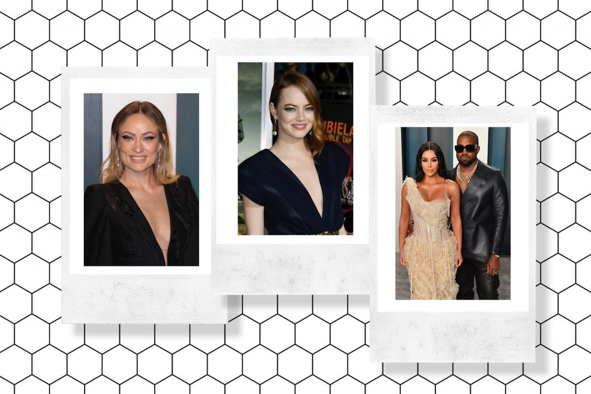 Kanye and Kim, Olivia Wilde and Emma Stone
