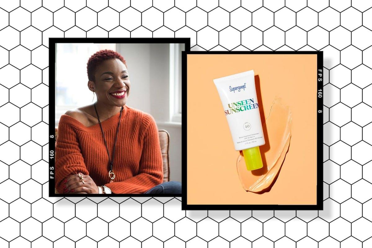 Supergoop Unseen Sunscreen SPF 30 Nnenna Onuba review