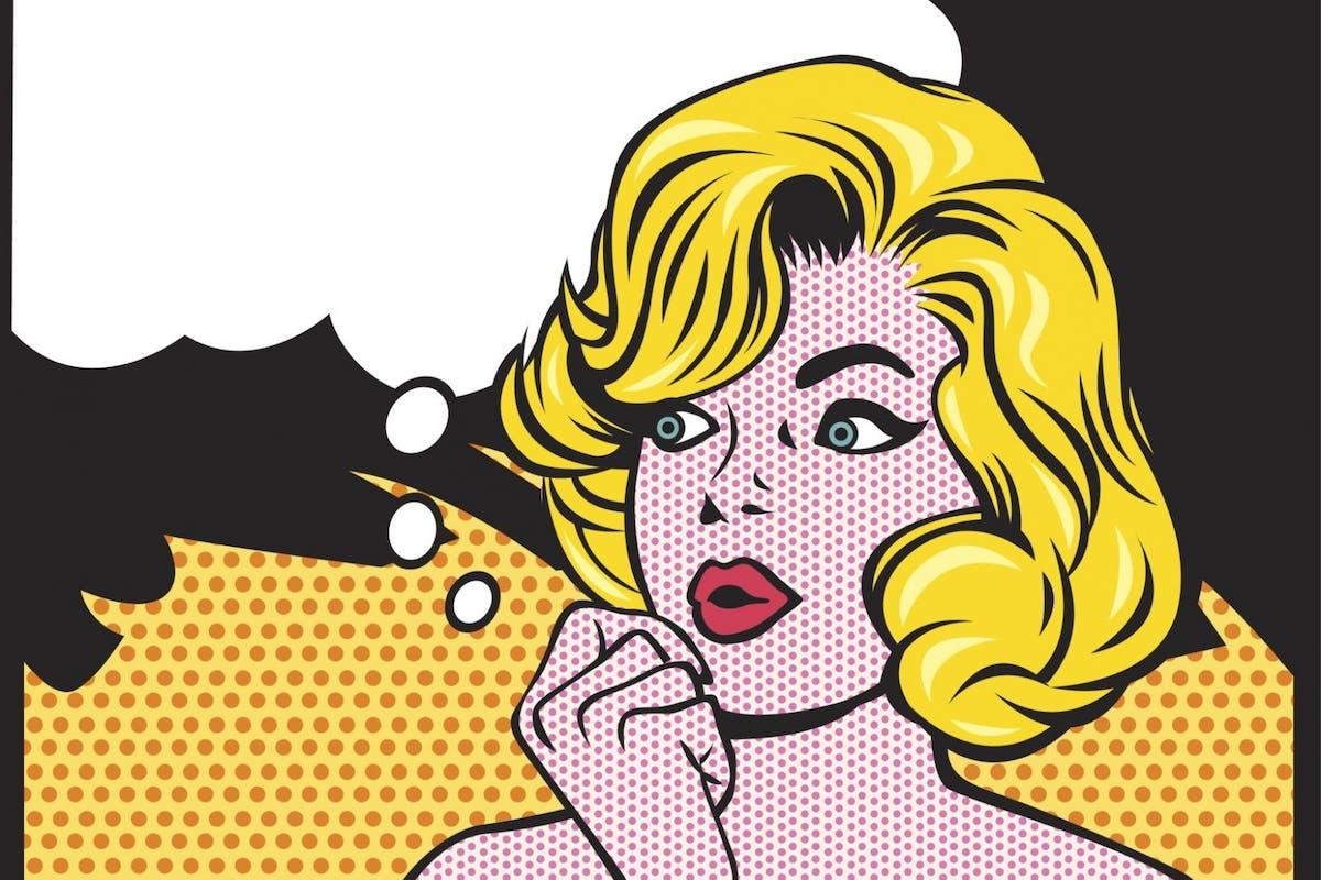 Woman overthinking