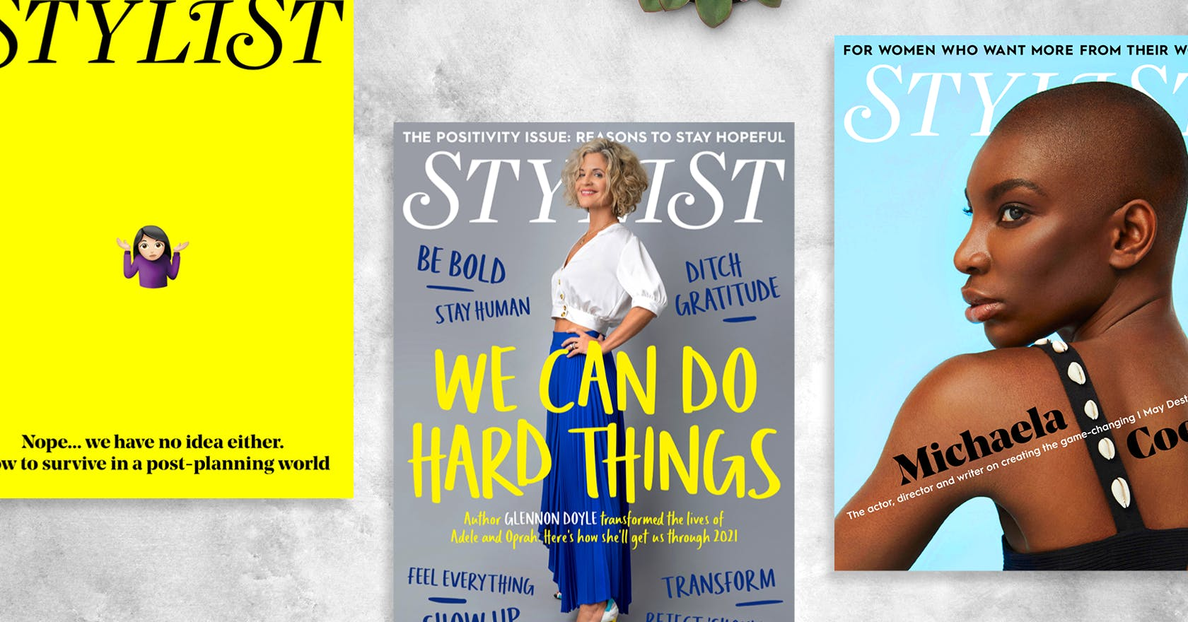 The Positivity Issue: read this week's Stylist