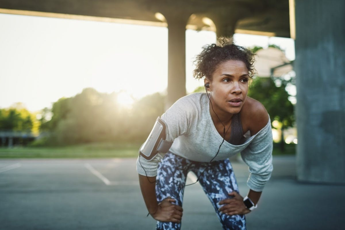 What is a fitness hangover?
