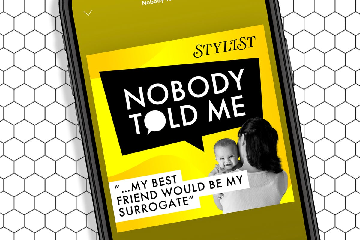 Nobody Told Me podcast about surrogacy.