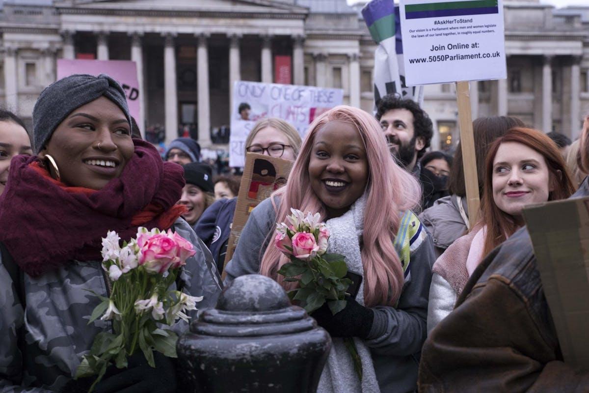 women's march london 2019 - elainea emmott