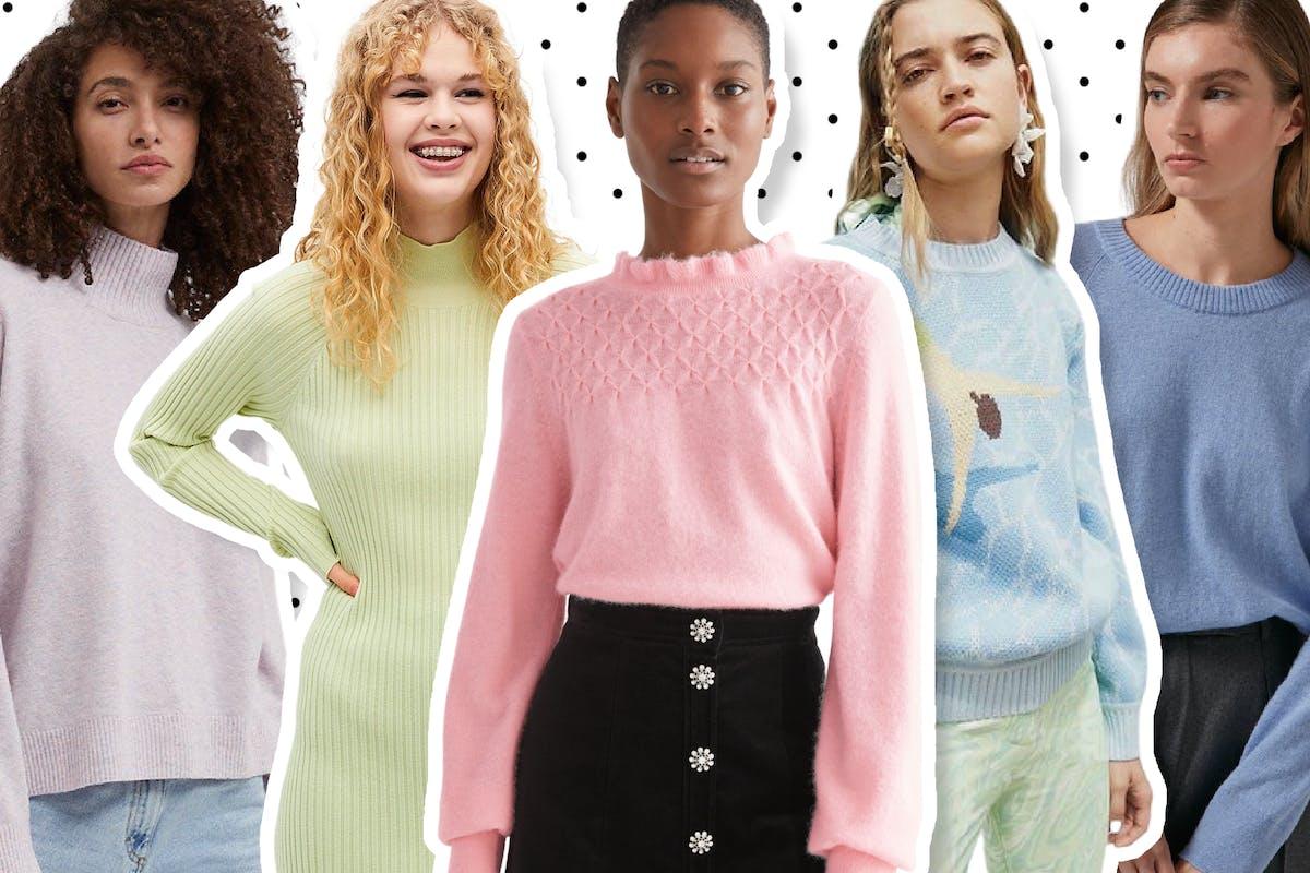 Pastel jumpers