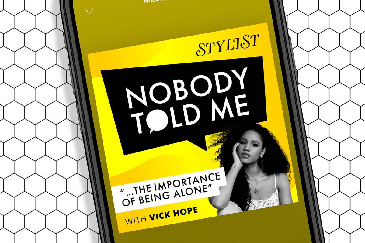 Nobody Told Me podcast with Vick Hope.