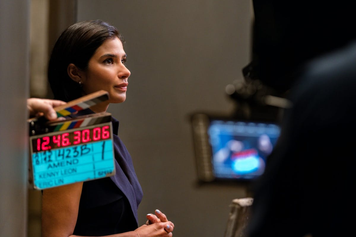 Diane Guerrero in Amend: The Fight For America on Netflix
