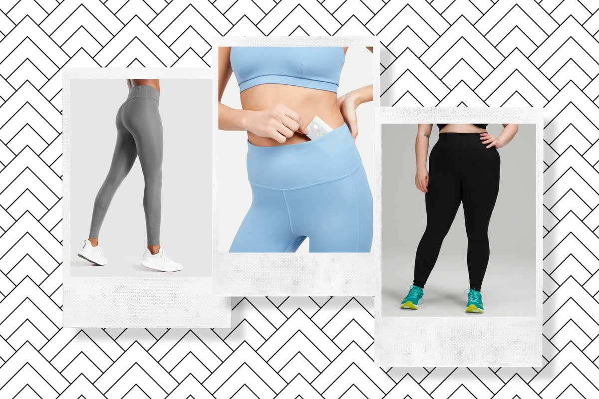 Compilation of leggings with pockets