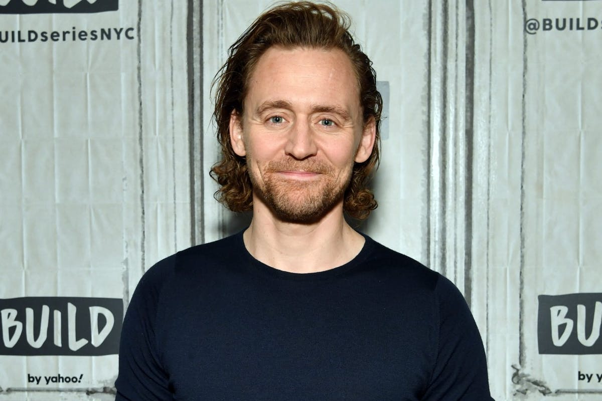 """Tom Hiddleston visits Build Series to discuss his Broadway debut at """"Betrayal"""" at Build Studio on November 07, 2019 in New York City. (Photo by Slaven Vlasic/Getty Images)"""