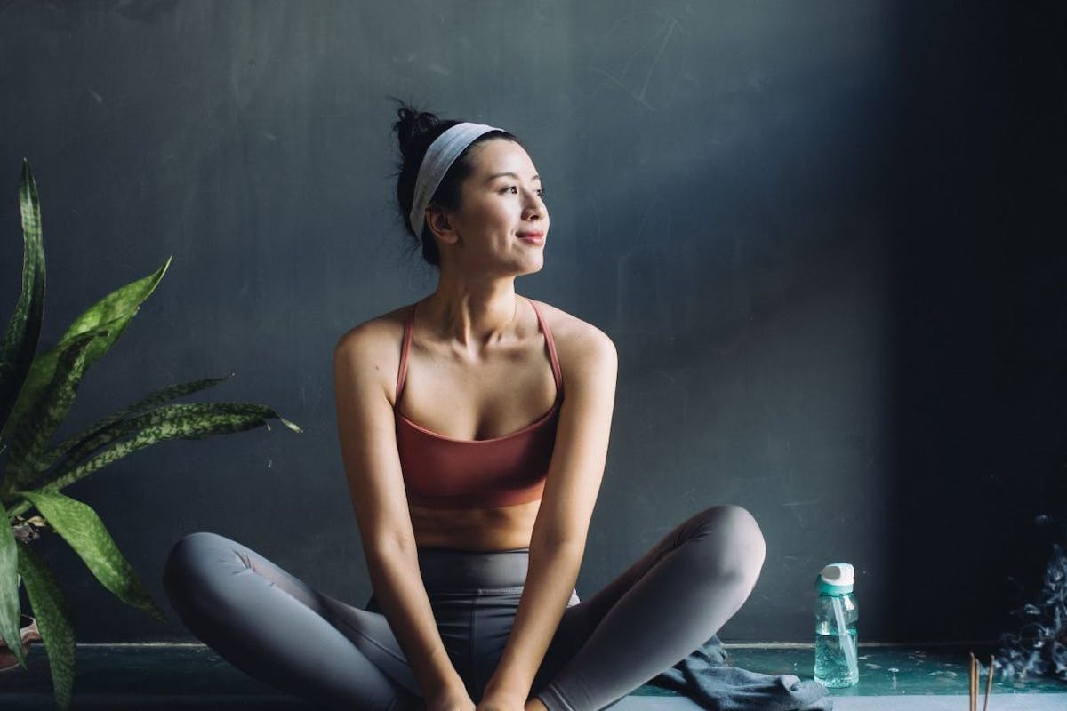 Easy yoga stretches to do in front of TV