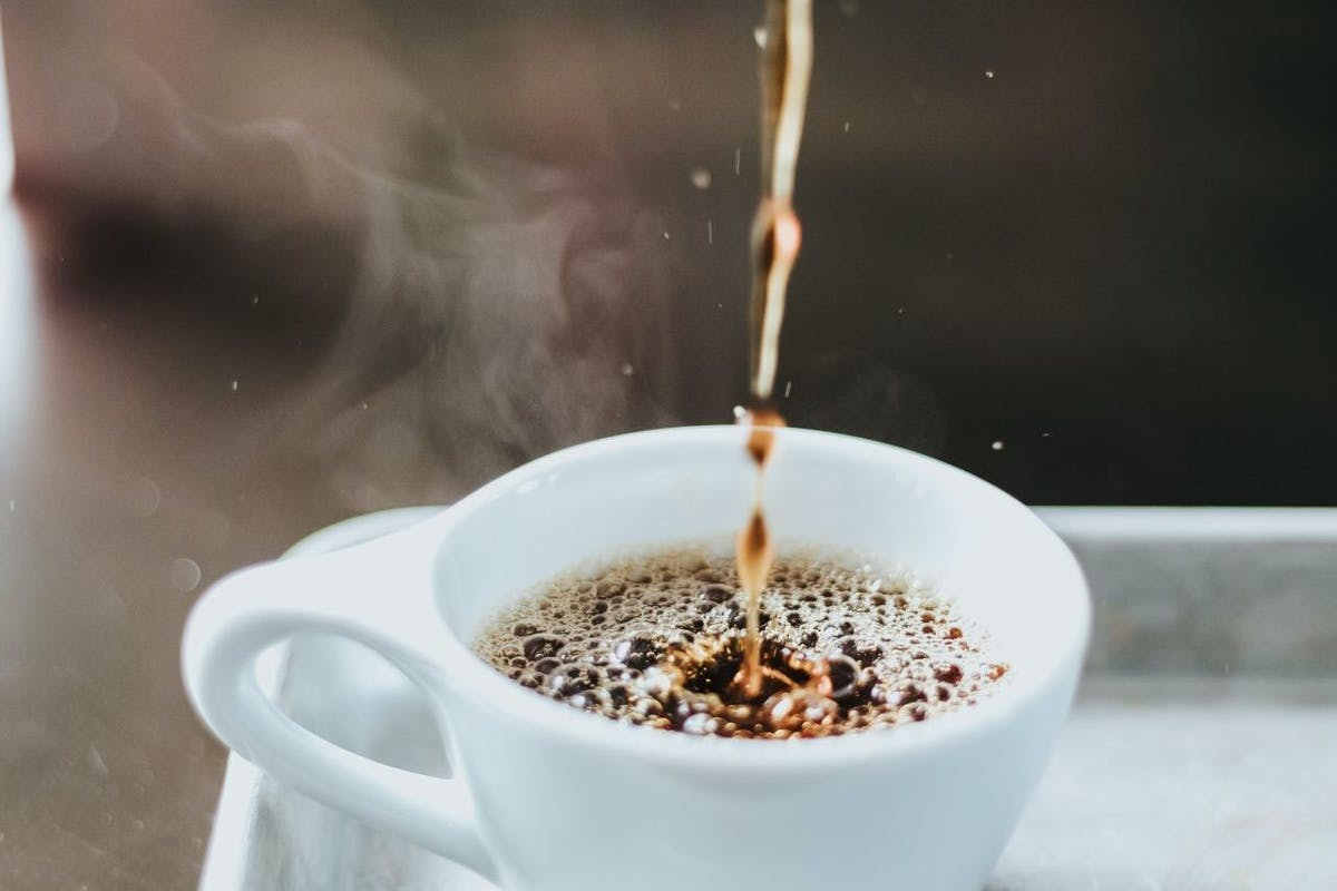 Drinking coffee can count towards your two litre recommended water intake.