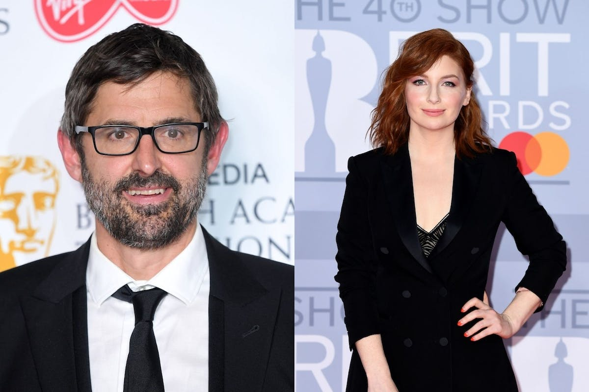 Louis Theroux and Alice Levine