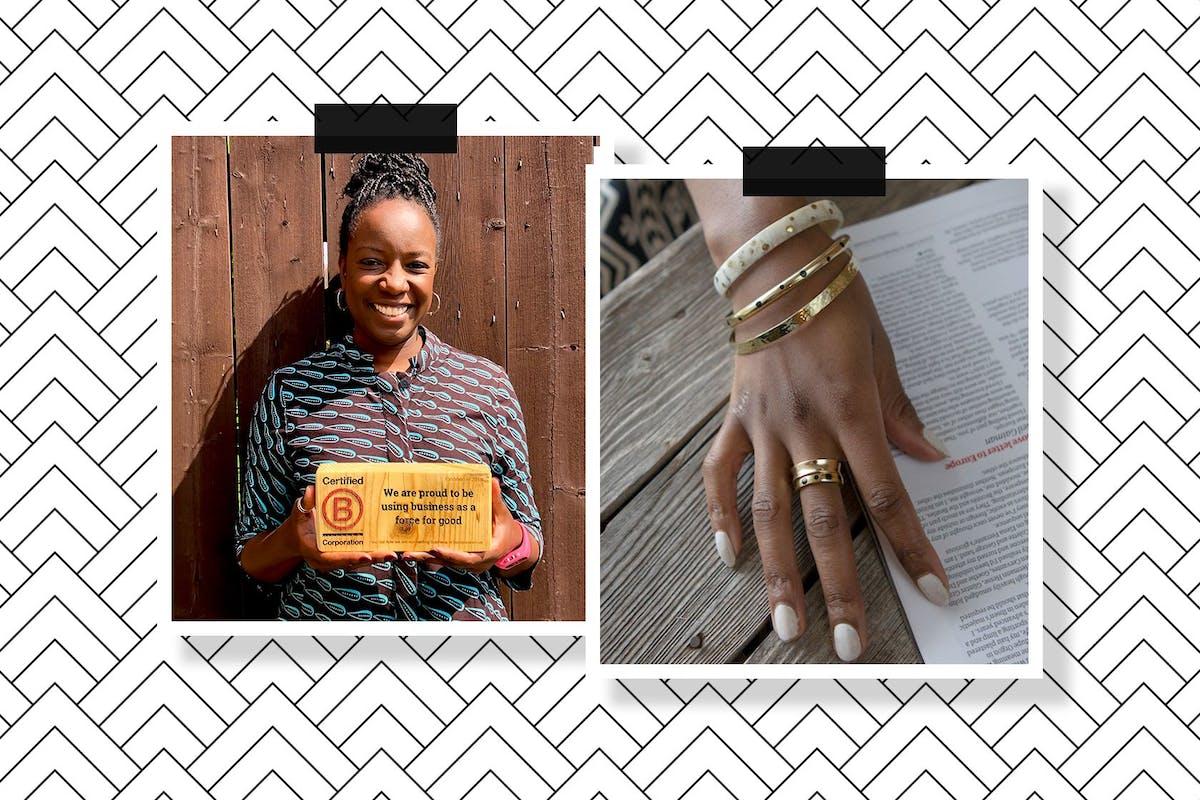 Audrey Migot-Adholla founder of Yala Jewellery for Stylist magazine