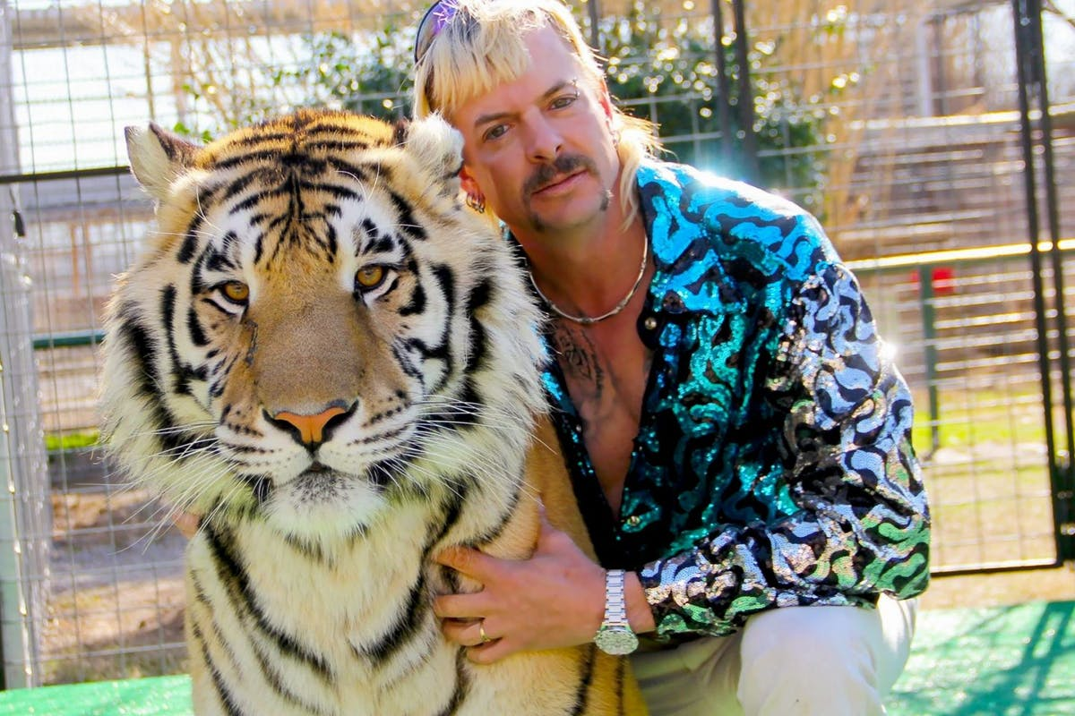 Tiger King's Joe Exotic on Netflix
