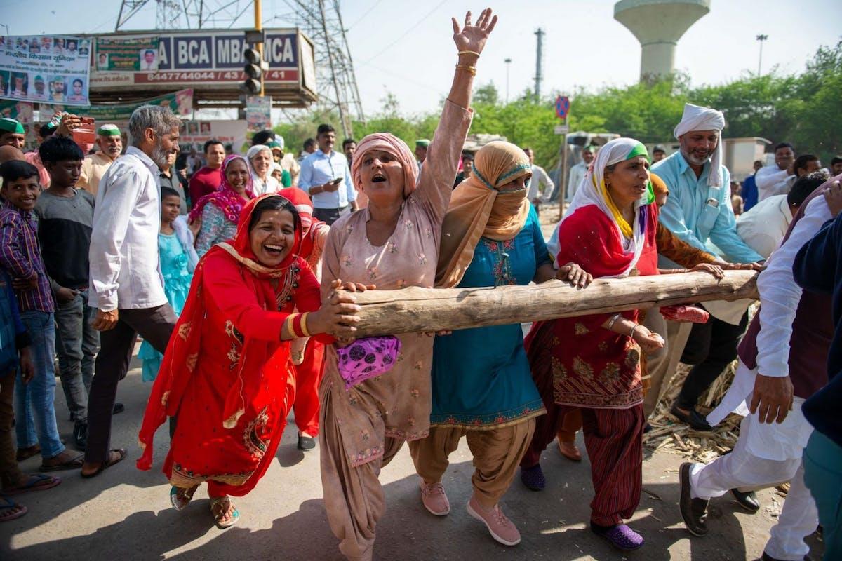 India farmer's protests